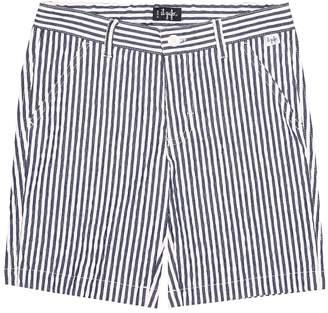 Il Gufo Striped cotton-blend pants