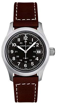 3a23651d5 at Amazon.co.uk · Hamilton Men's Analogue Quartz Watch with Leather Strap  H68411533