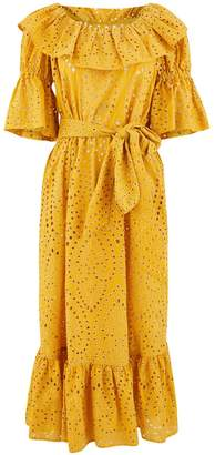 Lisa Marie Fernandez Natasha midi dress