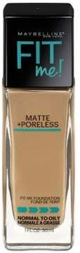 Maybelline Matte and Poreless Fit Me Foundation
