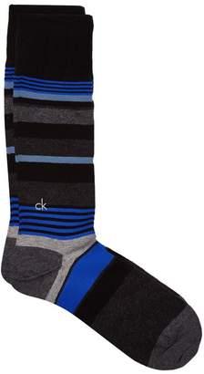 Calvin Klein Striped Cotton Socks