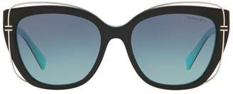 b0ffcced20ed Tiffany   Co. Black Sunglasses For Women - ShopStyle UK