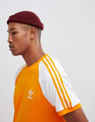 adidas California T-Shirt In Orange DH5809