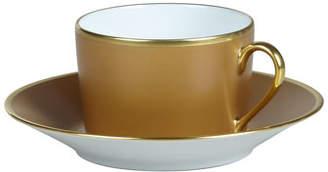 Haviland Color Block Bronze/Gold Cup