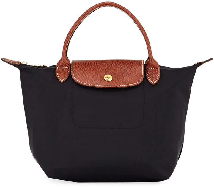 Longchamp Le Pliage Small Nylon Handbag - BLACK PATTERN - STYLE