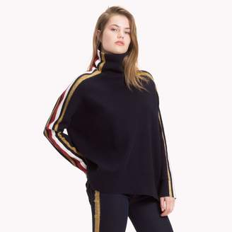 Tommy Hilfiger Tommy Icons Mock Neck Sweater