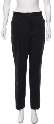 Chanel High-Rise Straight-Leg Pants