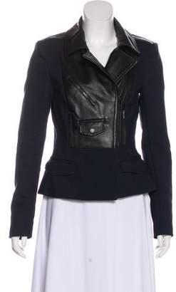 A.L.C. Leather Trimmed Jacket