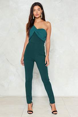 Nasty Gal Pleat to Meet You Jumpsuit
