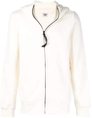 C.P. Company zipped hooded sweatshirt
