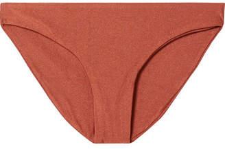 JADE SWIM Lure Bikini Briefs - Brown