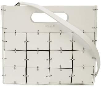Kate Spade geometric panel crossbody bag