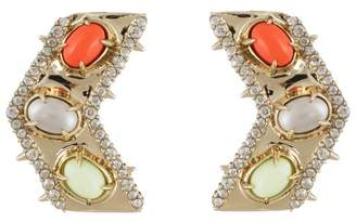 Alexis Bittar Sculptural Stone Cluster Post Earring
