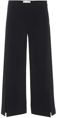 The Row Paber crêpe culottes