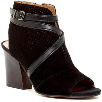 Franco Sarto Fantana Peep Toe Bootie $119 thestylecure.com