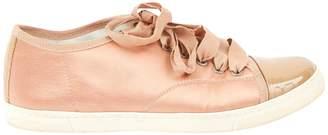 Lanvin Cloth trainers