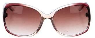 Oscar de la Renta Oversize Tinted Sunglasses