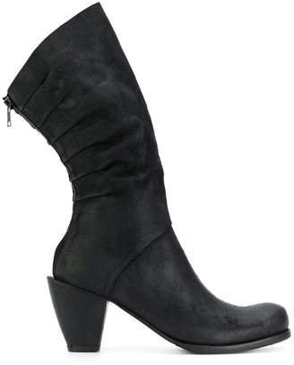 Lost & Found Ria Dunn pleated back boots