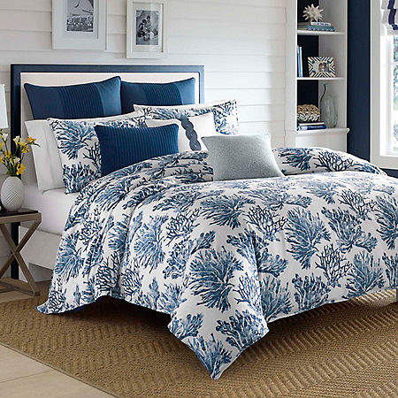 Cape Coral Blue King Duvet Set
