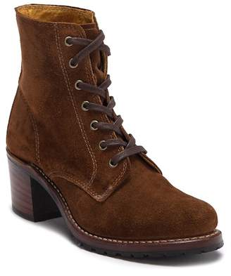 Frye Sabrina Lace-Up Bootie