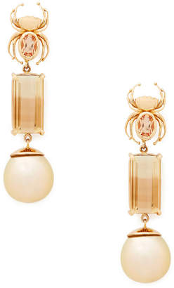Rosegold Daniela Villegas Rose-Gold Pure Earrings