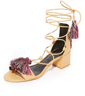 Rebecca Minkoff Isla City Sandals $150 thestylecure.com