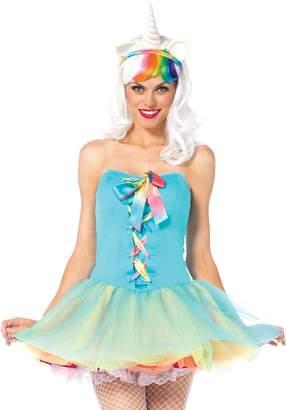 Leg Avenue Women's 3 Piece Rainbow Fairy Costume, color