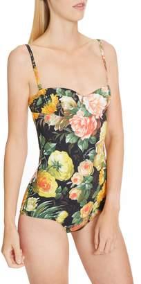 995a3bd5b8 Dolce   Gabbana One Piece Swimsuits - ShopStyle