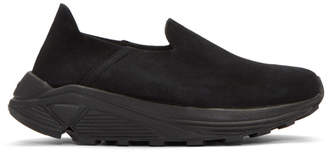 Diemme Black Suede One Slip-On Sneakers
