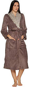 Berkshire Blanket Primalush Full Length Robe with Faux Fur Collarby Berkshire