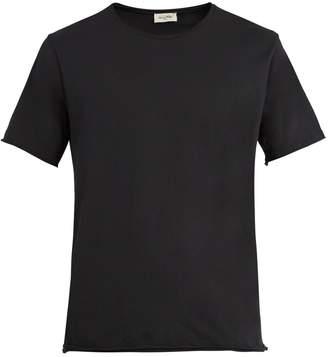 American Vintage Raw-edge cotton T-shirt