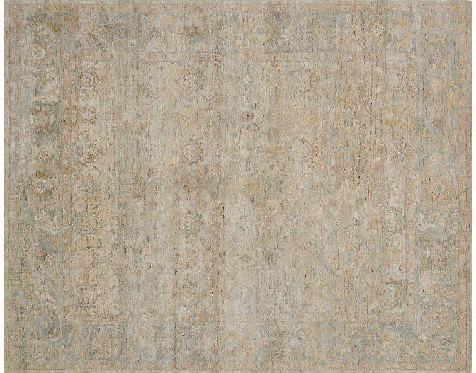 Ronaldo Hand-Knotted Rug - Natural - 9'x12'