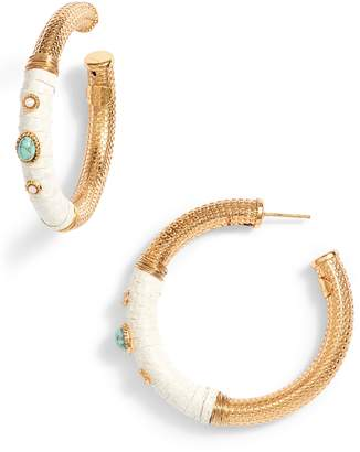 Gas Bijoux Hoop Earrings