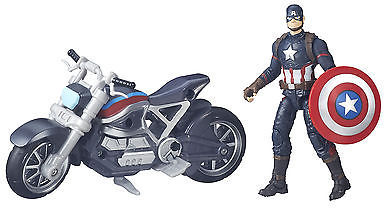 Marvel Legends Series Captain America And Motorcycle