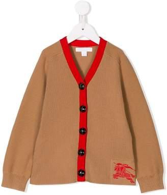 Burberry rib knit cardigan