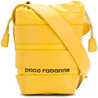 Paco Rabanne cage bucket bag