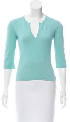 Lutz & Patmos Open-Knit Cashmere Sweater