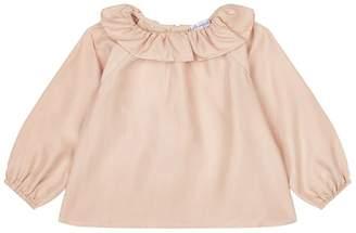 Belle Enfant Ruffle Collar Blouse