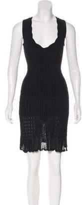 Alaia Sleeveless Knit Dress