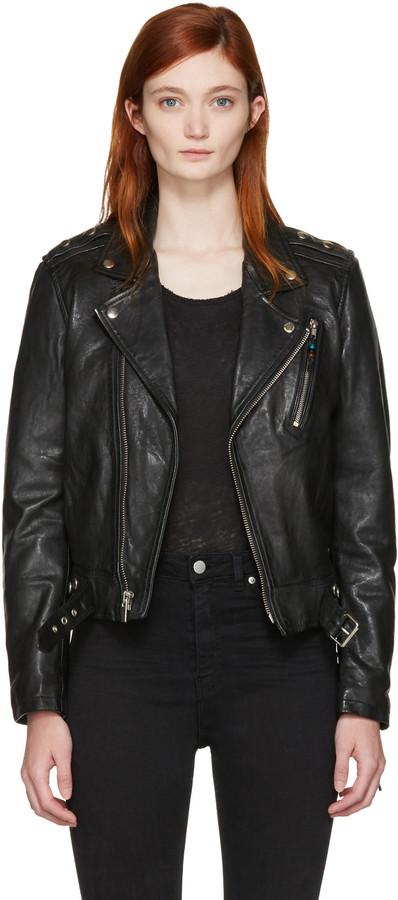 BLK DNMBLK DNM Black Classic 1 Biker Jacket
