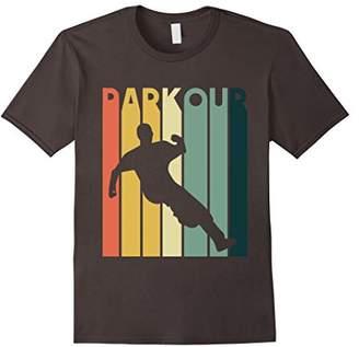 Retro Style Parkour Vintage Urban Free Running T-Shirt