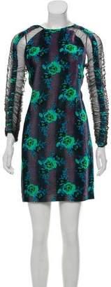 Christopher Kane Velvet Mini Dress