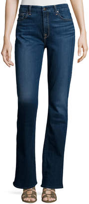 7 For All Mankind Jen7 By Riche Touch Classic Slim Boot-Cut Jeans, Medium Blue