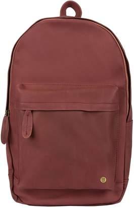 MAHI Leather - Leather Classic Backpack Rucksack In Vintage Maroon