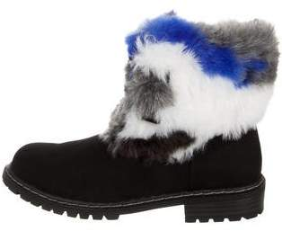 58c91c3b9cfa Stuart Weitzman Shoes   Boots Fur - ShopStyle
