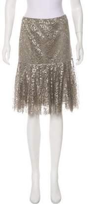 Ralph Lauren Knee-Length Lace Skirt w/ Tags