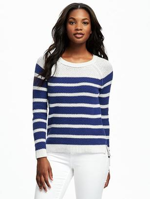 Textured Crew-Neck Sweater for Women $34.94 thestylecure.com