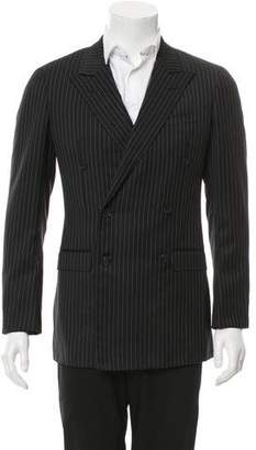 Gucci Double-Breasted Pinstripe Blazer w/ Tags