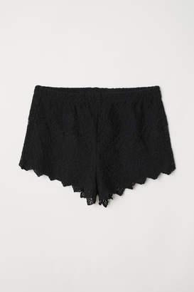 H&M Lace Shorts - Black
