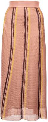 Marni woven striped skirt